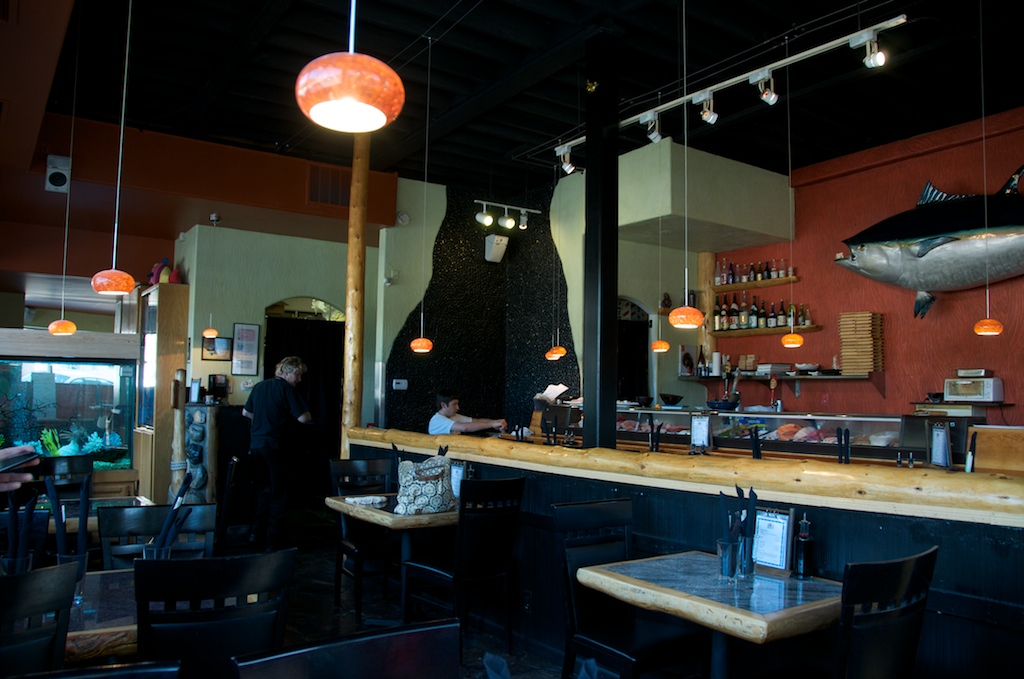 The naked fish sushi bar south lake tahoe happy hours for The naked fish