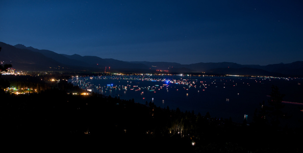 4th Of July Fireworks In South Lake Tahoe