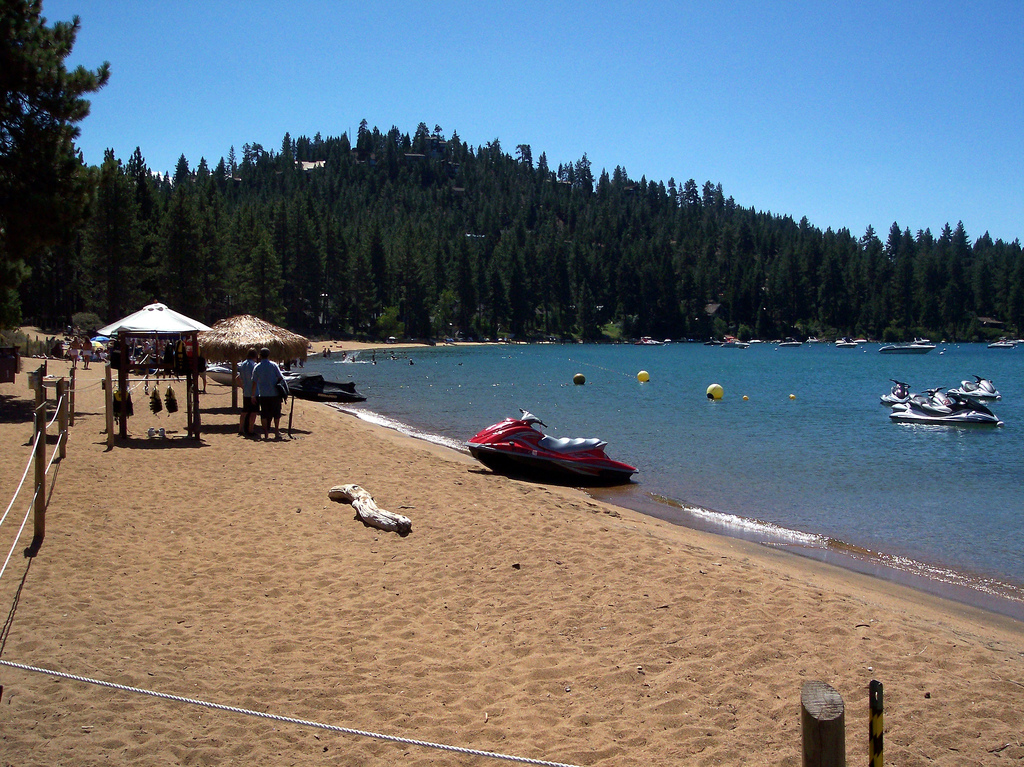 Zephyr Cove Beach