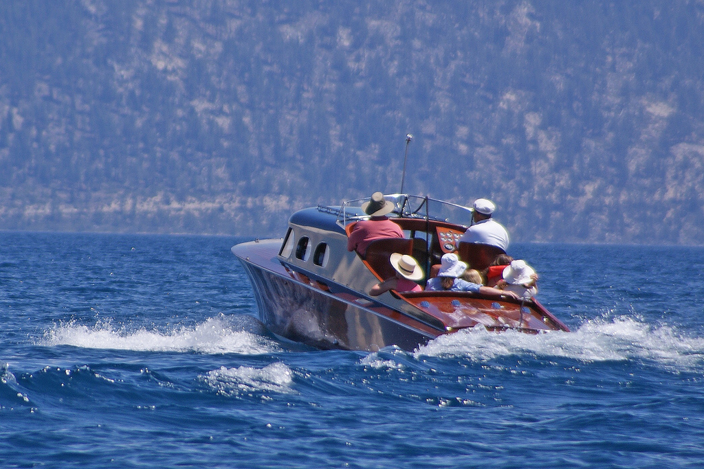 Boating In South Lake Tahoe
