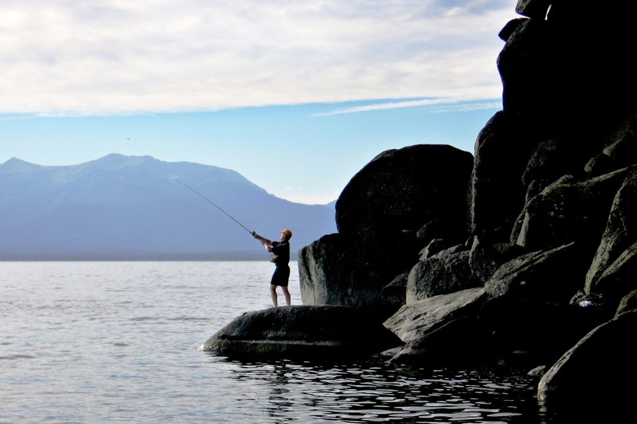 fishing in south lake tahoe
